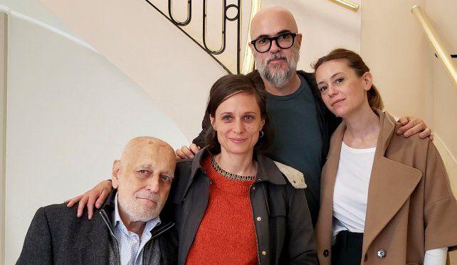 """Edgardo Cozarinsky,  Virginia Cosin, Pablo Loza y Romina Paula codirigieron """"Edición limitada"""" que será exhibida en la sección Horizontes Latinos."""