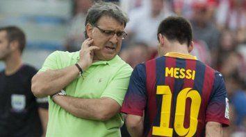 Martino, DT deBarcelonaen la temporada 2013-14, le reconoció aMessisu poder para desplazarlo del cargo con sólo un llamado al presidente del club.