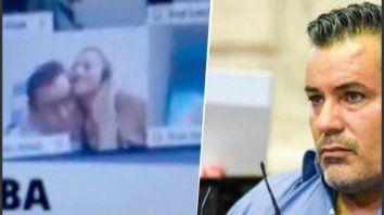 Quién es la joven novia del ex diputado Ameri que aparece en el escandaloso video sexual