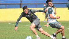 López Pissanoviene marcando la diferencia enlos entrenamientos. El Zurdo quiere consolidarse en la primera de Central.