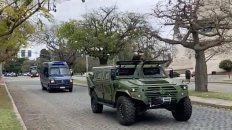 Llegaron las fuerzas federales para los operativos de saturación en la ciudad