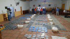 Los 382 kilos de droga iban en camionetas. Al volante de una de ellas cayó la líder de la organización