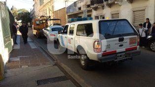 El auto fue encontrado en una playa de estacionamiento ubicada sobre calle San Jerónimo casi Monseñor Zazpe.