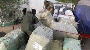 Gendarmería secuestró mercadería de contrabando por ocho millones de pesos