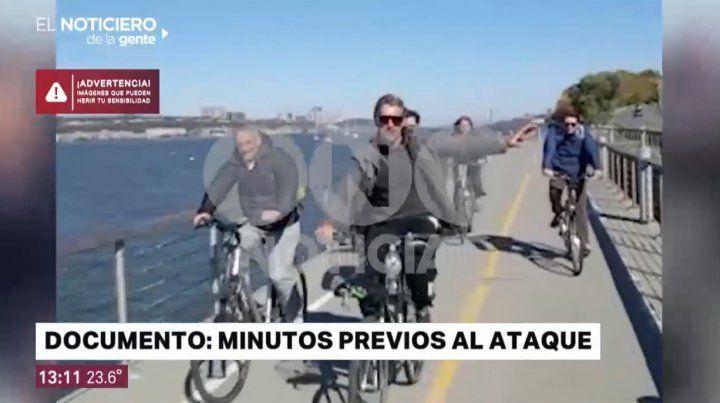 El último video de los rosarinos antes de ser arrollados por un terrorista en Nueva York