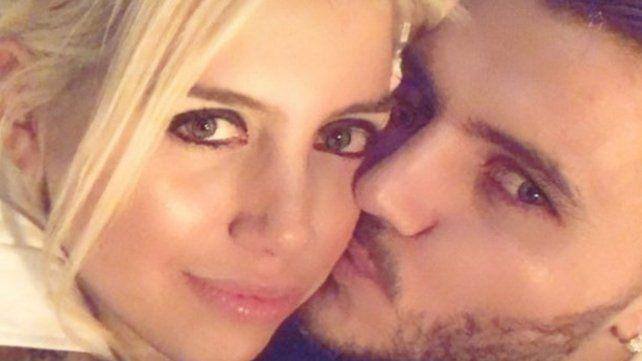 El fogoso festejo de Año Nuevo de Wanda y Mauro Icardi