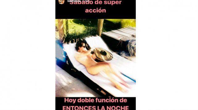 El Inesperado Y Sensual Desnudo De Dolores Fonzi