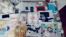 tres vendedores barriales de drogas detenidos en dos allanamientos en colastine norte