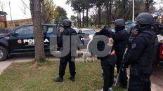 Detenida. La pareja de Candioti fue llevada hasta la Comisaría Nº 22