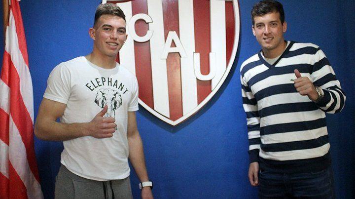 Marcos Peano y Joaquín Papaleo renovaron en Unión