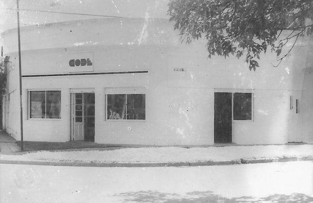 Sede del CODE entre los años 1982 y 1993