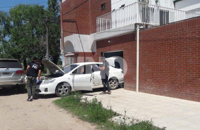 Hallaron el auto usado en el asesinato de Oldani, en barrio Policial