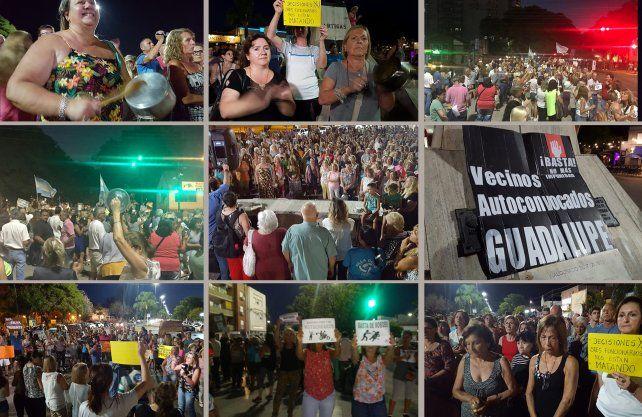 Cacerolazo: con un reclamo histórico, más de 29 vecinales pidieron mayor seguridad