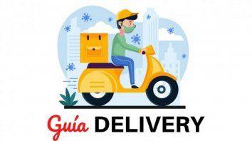 La guía con los delivery de Santa Fe