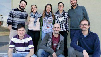 El equipo que trabajó en el descubrimiento, que pertenece a la Facultad de Ingeniería Química de la UNL