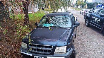 San Lorenzo: persecución y aprehensión de un ladrón que robó una camioneta
