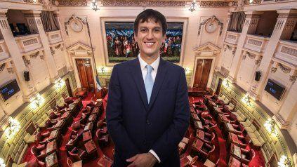 El diputado rafaelino Juan Argañaraz