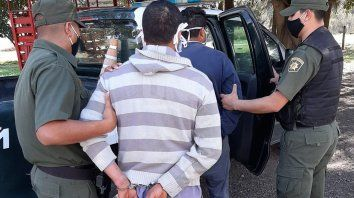 Los dos detenidos