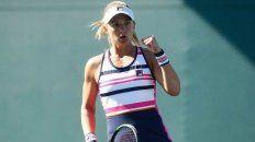 Tenis: Nadia Podoroska avanza a paso firme en Praga