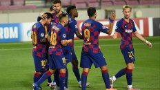 Barcelona, a cuartos de final sin despeinarse ante Napoli