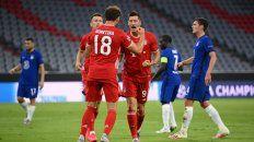 Bayern aplastó a Chelsea y avanzó a cuartos de la Champions