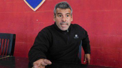 Ramón Quinteros es el presidente de la Asociación Club de Hockey Solidario.