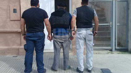 El hombre detenido en San Justo