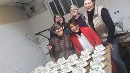 Sandra, Andrea, Lily, Marcela e Ivana, las geniales vecinas y reposteras de Susana