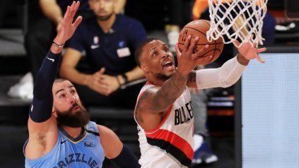 Portland y Memphis dirimen el último pasaporte a los playoffs de la NBA.