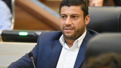 El diputado provincial Gabriel Chumpitaz de Juntos por el Cambio