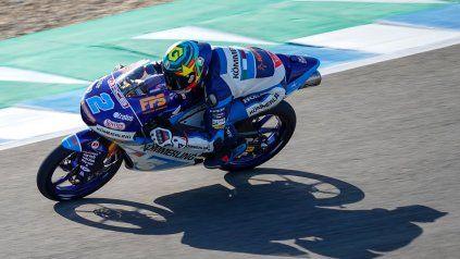 El argentino Rodrigo largará séptimo en el GP de Moto3 que se correrá en Austria.
