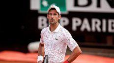 Novak Djokovic sufrió más de la cuenta pero está en semifinales de Roma.