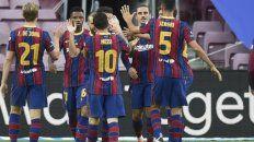 Con Lionel Messi como titular, el Barcelona se alzó con la Copa Joan Gamper.