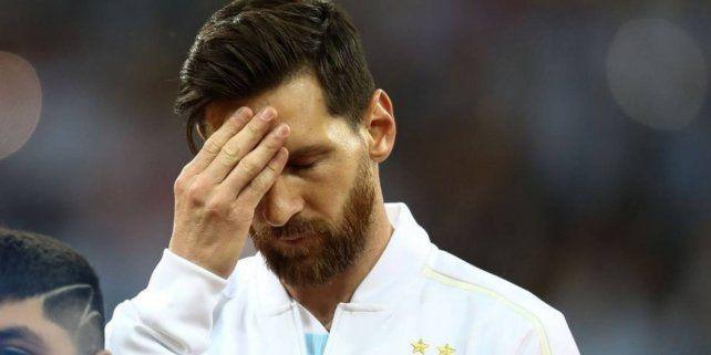 Lionel Messi se retiró en silencio ¿Seguirá en la Albiceleste?