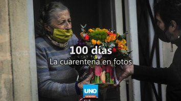 Paraná en cuarentena: las postales de los 100 días