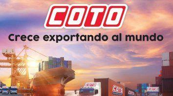 COTO: una empresa que exporta, un país que crece