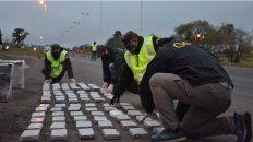 Incautaron 100 kilos de droga enviadas por encomienda