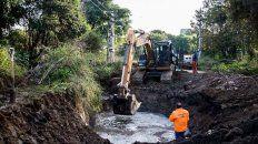 La Municipalidad anunció que reanudaron el bombeo de agua desde la planta de Echeverría.