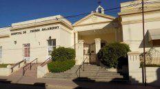Hospital Fermín Salberry, de Victoria. Foto: Paralelo32