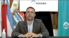 Paraná ratificó que hasta el 17 siguen suspendidas varias actividades