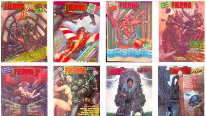 Volvió a salir la revista Fierro, esta vez en un nuevo formato digita
