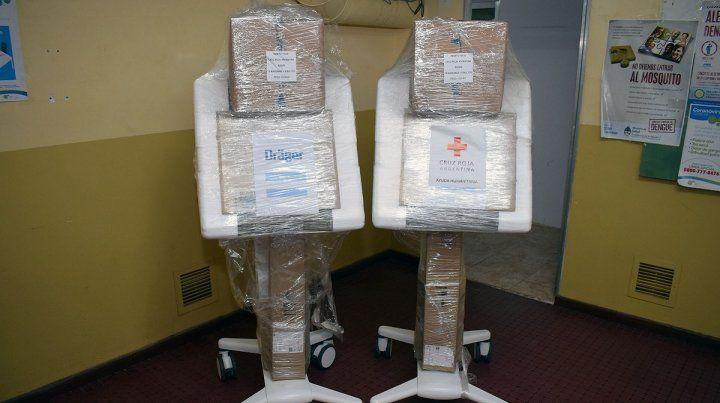 La provincia incorporó 9 respiradores al sistema de salud