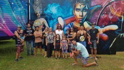Sin funciones desde marzo, el circo que nació en Entre Ríos se reinventa