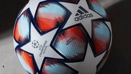 La nueva pelota para la Champions League