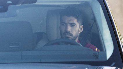 Luis Suárez se despidió llorando de Barcelona