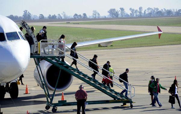 A volar. Las empresas brasileñas TAM y Gol