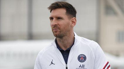 Preparado. Messi está feliz y relajado después de la consagración con la selección y en esta nueva etapa en PSG.