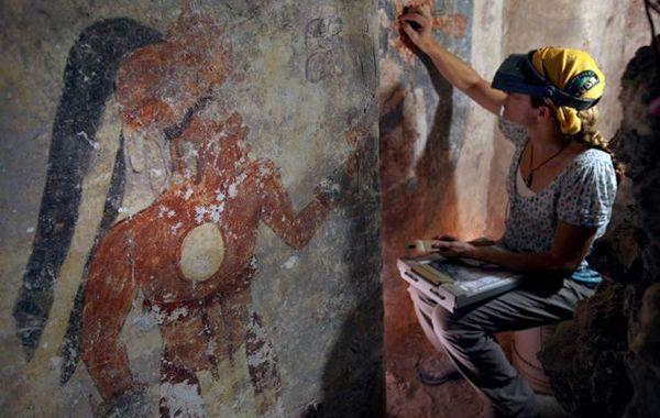 El descubrimiento del calendario maya