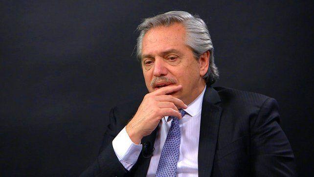 Alberto Fernández: No hay posibilidad de modificar nuestra fórmula