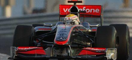 Hamilton logró la pole position para el Gran premio de Abu Dabi de F-1